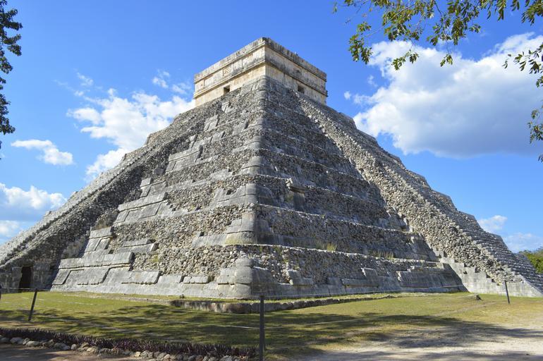 aztécký chrám