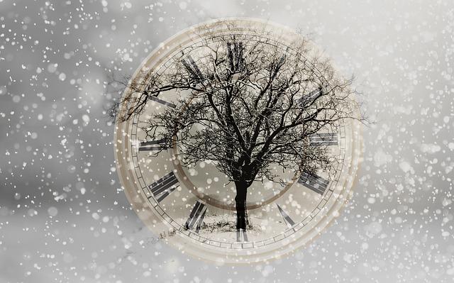 strom na hodinách