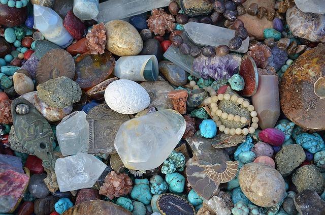 hromádka léčivých kamenů